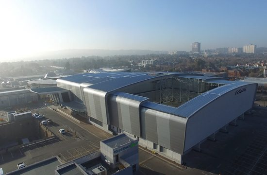 Overall winner of Steel Awards 2016 is Tass Engineering for the Eastgate Phase 2 Redevelopment