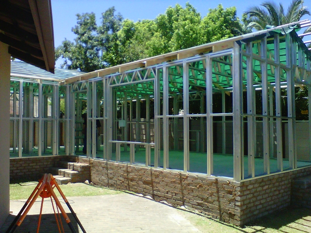 Examples Of Steel Frame Buildings : Passionate about light steel frame construction south