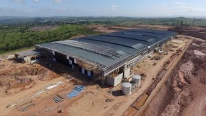 Factory and Warehouse Category Winner: Mr Price Distribution Centre. Steelwork Contractor: Avellini Impact Joint Venture (Avellini Bros (Pty) Ltd / Impact Engineering (Pty) Ltd) Structural Steel
