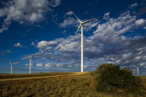 The recently completed Noupoort Wind Farm in the Northern Cape comprises 35 turbines producing a total of 80MW