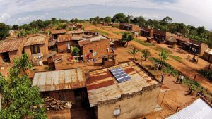 Drone in Uganda Solar Now SunFunder SolarNow Uganda Aerial Drone Photos of Solar Projects