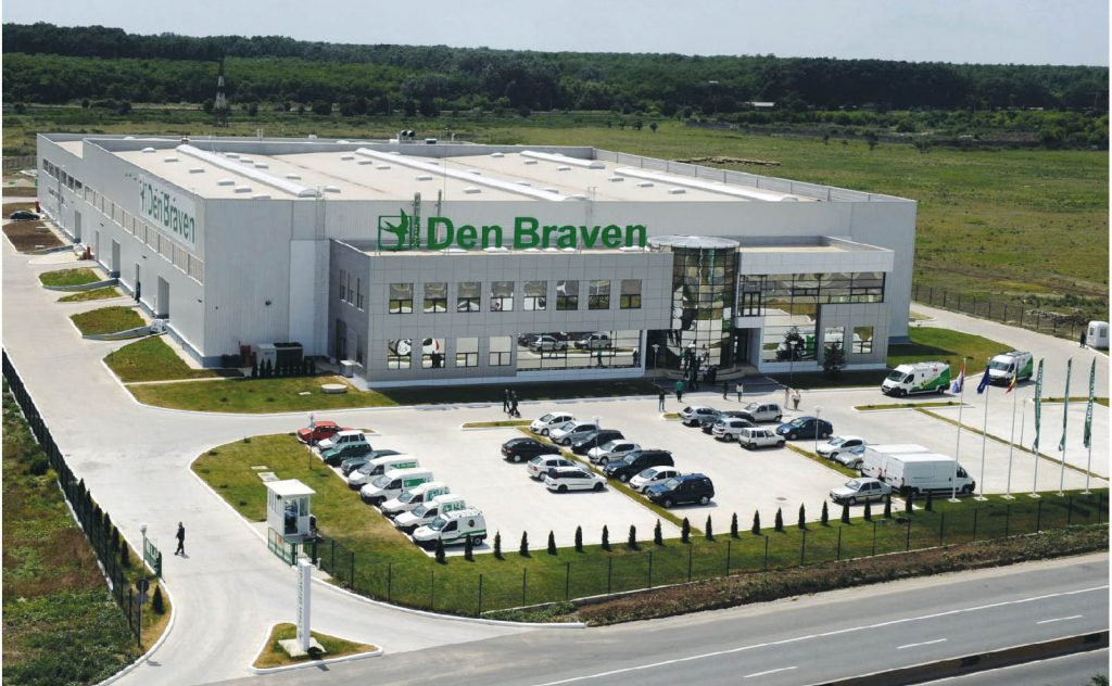 Den Braven's factory in Romania is one of many in Europe
