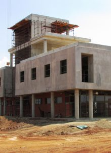 A total of 2 500 cubic metres of AfriSam readymix concrete was used during the construction of the Thokoza Fire Station