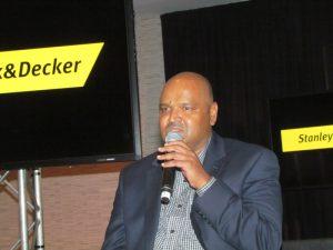 Manoj Panikkal, General Manager of Stanley Black & Decker sub-Saharan Africa