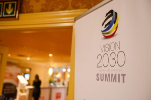 Vision 2030 logo and image