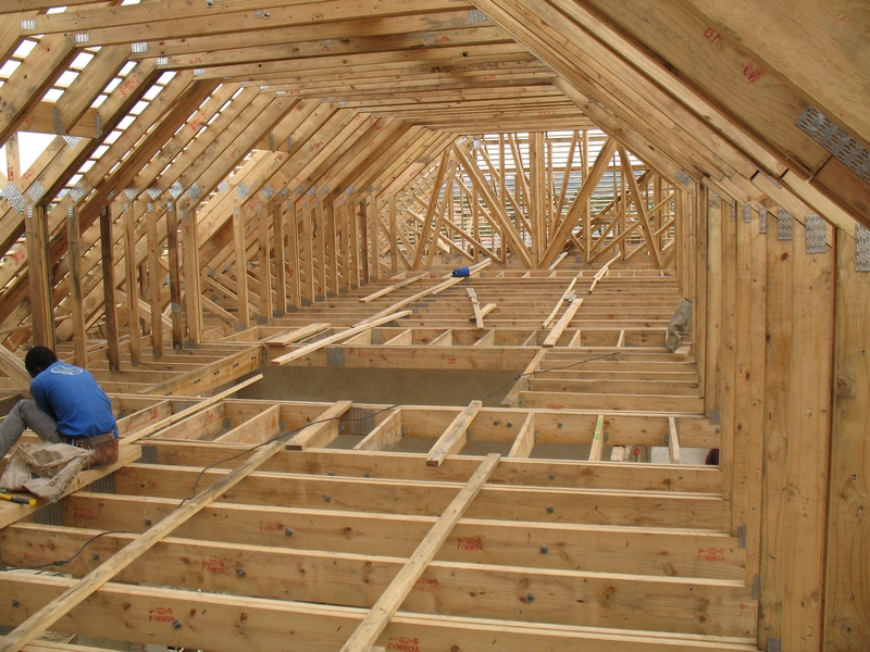 Timber roof trusses and fire regulations south african for Pre made trusses price