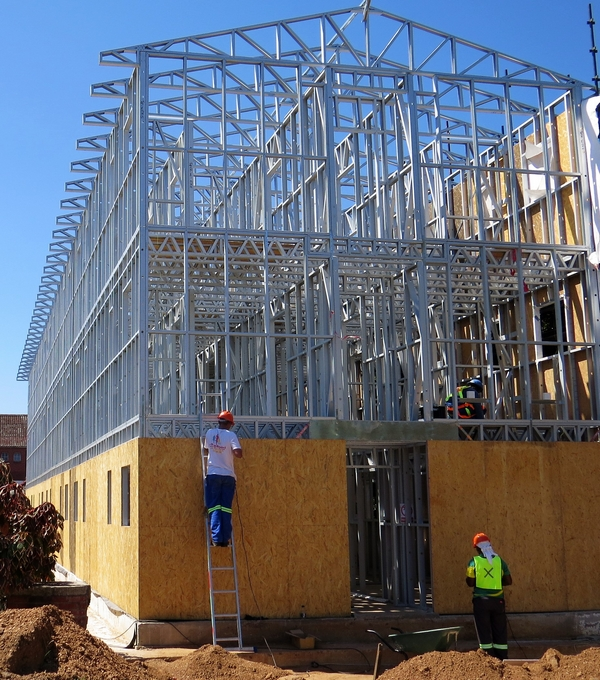Light Steel Frame Structures Cape Town South Africa: Light Steel Frame Training Course For Building Contractors